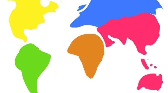 แผนที่โลกในอีกมุมมอง